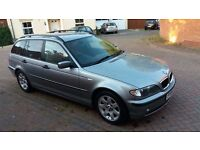 BMW 320d SE touring, New MoT, Sat Nav, Leather, FSH