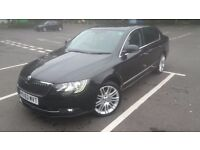 Stunning skoda elegance new shape 2014 model dsg gearbox immaculate black pearlescent