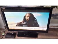 """LG 50"""" Full HD 1080p TV with Freeview £140"""