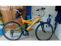 2 X 21 speed Mountain Bikes plus Car Rack
