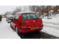 Golf 1.4 fully working with mot for 11months