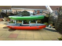 KAYAKS sold as pair or seperately