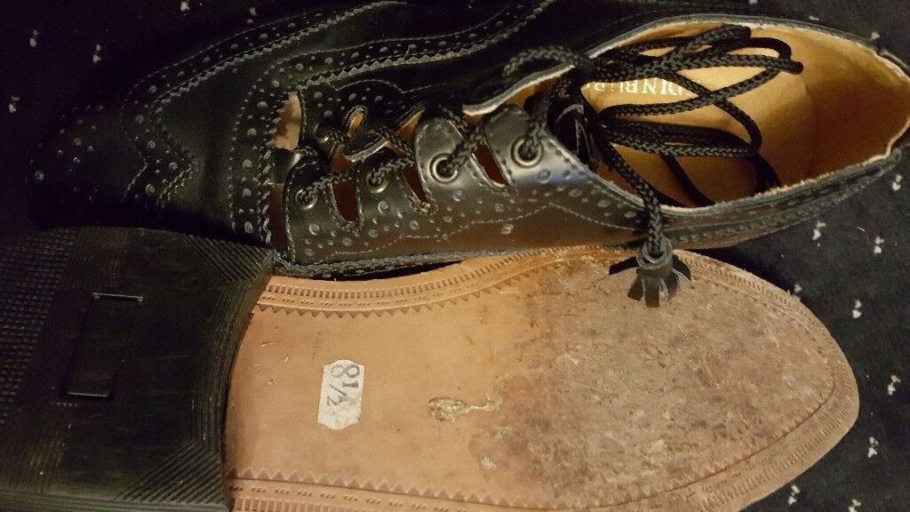 Mens Ghillie Kilt Brogues for New Year
