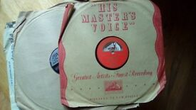 Old 78 rpm records