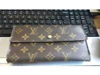 3 genuine designer wallet purses Louis vuitton gucci