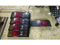 Ford sierra sapphire tail lights (4) p/side (1) d/side