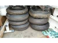 Pirelli Supercora metzler dunlop trackday 120 180 190 tyres