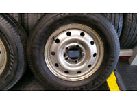 225 65 16 C 1 x Tyre + 1 x Steel Wheels with Renault Master,Vauxhall Movano