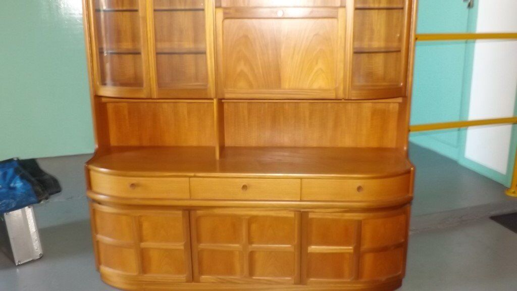 Wood furniture - display cabinet, dresser and cabinet