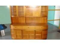 Wood furniture - display cabinet, dresser and cabinet
