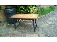 rustik coffee table