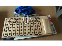 Mastermind wooden game classic and word version