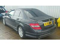2008 Mercedes c220d sport damaged spares or repairs c180 c250 c200 w204