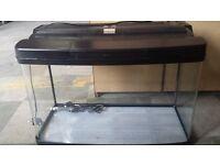 Fish Pod Glass Aquarium Fish Tank 120L