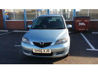 Mazda 2 2006. Excellent runner. MOT until February 2019. New tyres and full fuel tank. Ready to go!