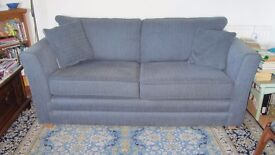 3-seater sofa, textured fabric.