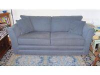 3-seater sofa, textured fabric.