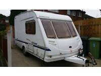 Sterling Europa 390 lightweight 2 berth caravan 2004 model