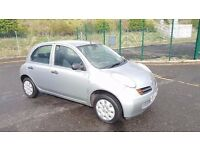 2003 Nissan Micra 1.2 Petrol 5 Door 8 Month MOT 2 Keys...