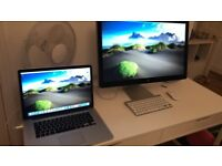 Apple Thunderbolt Display 27 Inch - 2560 x 1440 pixels - THIS IS A DISPLAY NOT AN IMAC