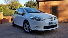 TOYOTA AURIS 1.33 VVT-i EDITION 5DR *** FULL TOYOTA SERVICE HISTORY *** 1 PREVIOUS OWNER ***