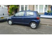 TOYOTA YARIS 1.0 GPS STARTS AND DRIVES GREAT MOT TILL APR NEXT YEAR LOW MILES ONLY 83K BARGAIN £495