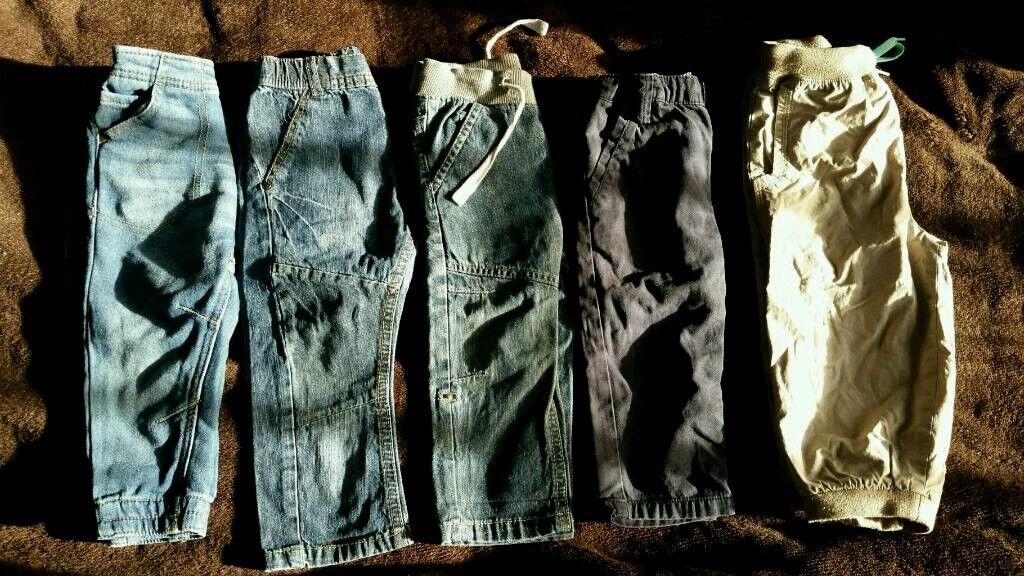 Baby boys bundle trousers 12-18