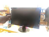 Selling 24inch BENQ GL2450 LED Monitor FULL HD (1920x1080) 2ms Response, 80HZ OC