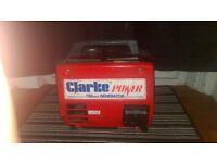 clarke g900 700w generator