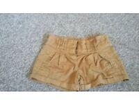 Next girls shorts