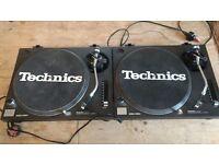 Technics 1210s (pair)