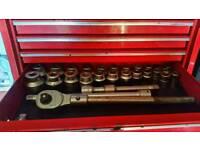 Teng tools 3/4 socket set like brand new