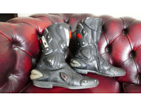 Sidi Vertebrae Motorcycle bike race boots