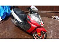 Jonway 125cc moped scooter pitbike pit bike mini moto