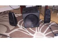 2.1 wireless speaker system