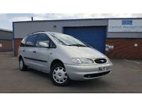 2000 Ford Galaxy 2.3 LX 7 Seater MPV Long MOT Towbar Cheap People Carrier Sharan Alhambra Tow Bar