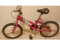 Girls Raleigh Krush Bike Excellent Condition £10