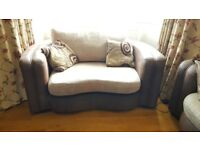 Sofa set - 3 seater and love seat - Great condition treated with care - very high quality