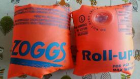 Zoggs Roll Ups armbands - age 1-6 years