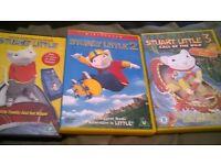 stuart little 1,2 &3 orginal dvds