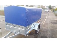 NEW Car trailers 8 x 4 and cover £730 inc vat