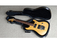 1994 Washburn N2 electric guitar Made in Korea MIK with fitted hard case