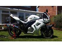 Suzuki SV650 2012 SL2 - A2 Compliant Motorcycle
