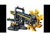 42055 BRAND NEW LEGO Bucket wheel Excavator SEALED BOX Inc. Motor for motorised functions