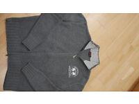 La Martina woolen cardigan, size XXL