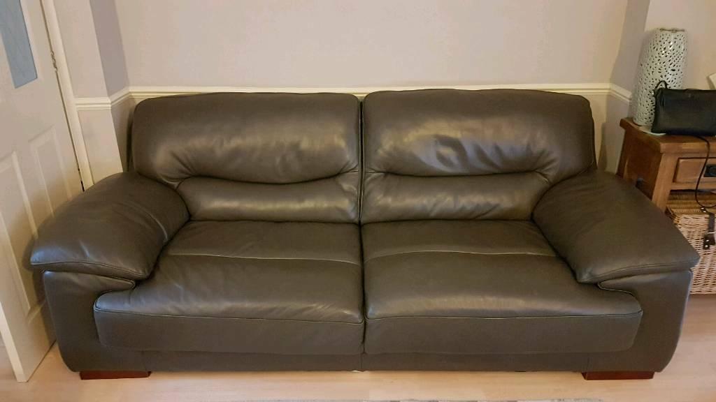 Made In Italy Real Italian Leather Sofa