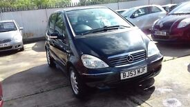 MERCEDES A160 ELEGANCE AUTO, FSH, 1 OWNER, LOW MILES!