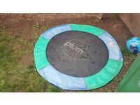 4ft plum trampoline