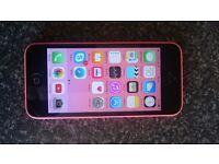 Iphone 5C 8GB Pink Sim lock O2
