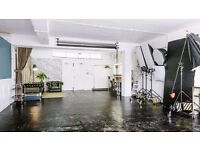 Photo / Film / Photography studio for hire. Fully equipped 900sq ft in central location - London